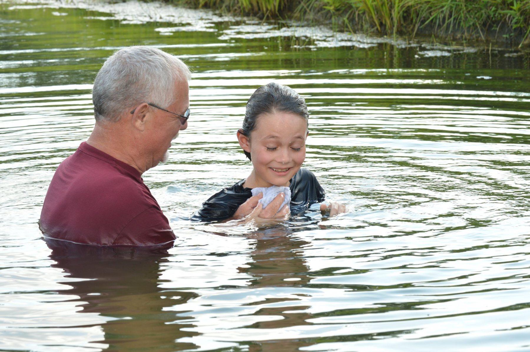 Delorian Clark's Baptism!
